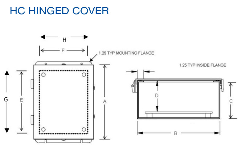 Qube HC Hinged Cover